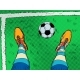 Soccer Player and Ball Feet Shoes Profession - GraphicRiver Item for Sale