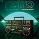 Retrowave Flyer 80s Flashback Radio - GraphicRiver Item for Sale