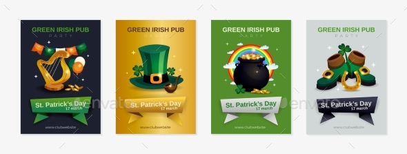 Patricks Day Vertical Posters