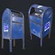 Mailbox - Low Poly - 3DOcean Item for Sale
