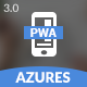 Azures   Mobile Template & PWA - ThemeForest Item for Sale