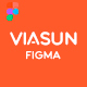 Viasun - Creative Cosmetic Store FIGMA - ThemeForest Item for Sale