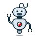 Robot Logo - GraphicRiver Item for Sale