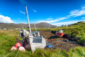Old fishing boats at Leverburgh - PhotoDune Item for Sale