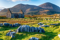 The ruins of the old manse at Kilchrist near Broadford - PhotoDune Item for Sale