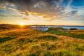 The old coastguard cottages at Arnish Point - PhotoDune Item for Sale