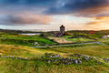 Moody sunset over the old church at Rodel - PhotoDune Item for Sale