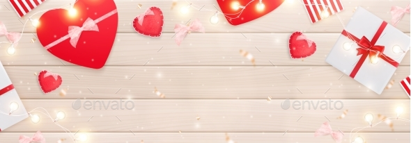 Valentines Day Gifts Composition