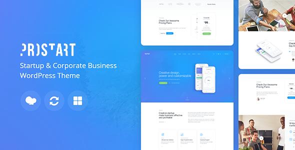 ProStart | Startup & Business WordPress Theme