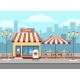 Bistro Cafe Exterior - GraphicRiver Item for Sale