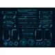 Techno Cyber Ux Elements - GraphicRiver Item for Sale