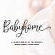 Babyhome Elegant Script in Two Version - GraphicRiver Item for Sale