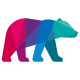 Colorful Grizzly Bear Logo - GraphicRiver Item for Sale