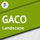 Gaco - Landscape & Gardening Figma Template KF - ThemeForest Item for Sale