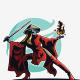 Ninja Girl Logo - GraphicRiver Item for Sale