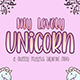Lovely Unicorn the Quirky Playful Font - GraphicRiver Item for Sale