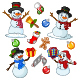 Christmas Elements Collection - GraphicRiver Item for Sale