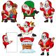 Set of Seven Cartoon Santa Claus - GraphicRiver Item for Sale