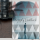 Portfolio Layout with Triangle Pattern - GraphicRiver Item for Sale