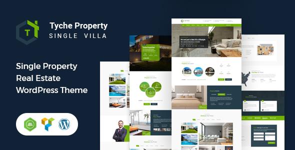 Tyche Properties- Single Property Real Estate WordPress Theme