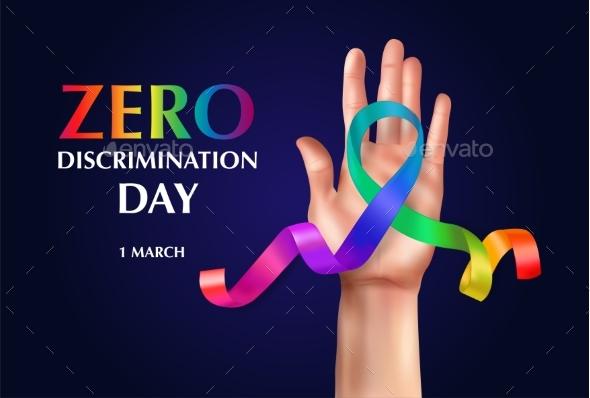 Zero Discrimination Day Composition