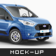 Ford Transit Connect Mockup - GraphicRiver Item for Sale