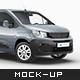 Peugeot Partner 2020 Mockup - GraphicRiver Item for Sale