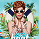 Fresh Beat Party Flyer - GraphicRiver Item for Sale