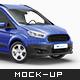 Ford Transit Courier Mockup - GraphicRiver Item for Sale