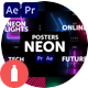 Posters Neon - VideoHive Item for Sale