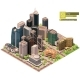 Vector Isometric City Downtown - GraphicRiver Item for Sale