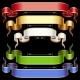Ribbon set with adjusting length. Vector frame - GraphicRiver Item for Sale