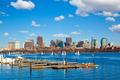 Boston skyline over the Charles River - PhotoDune Item for Sale