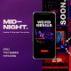 Midnight Instagram Post & Stories - GraphicRiver Item for Sale
