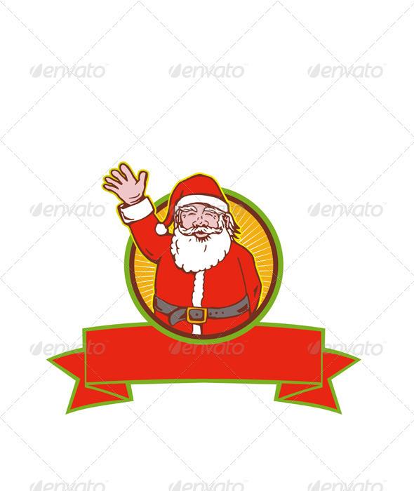 Santa Claus Father Christmas Cartoon