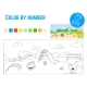 Coloring Book for Preschool Kids with Easy - GraphicRiver Item for Sale