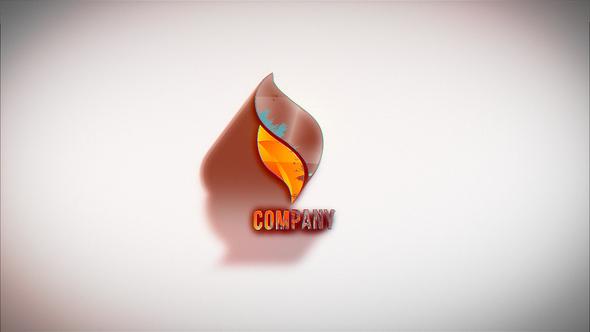 Ink Logo Intro