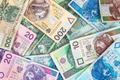 Background of polish banknotes - PhotoDune Item for Sale