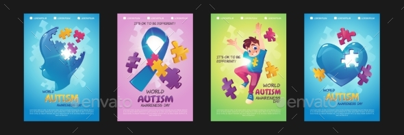 World Autism Awareness Day Posters