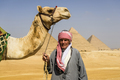 Three pyramids, Cairo, and tour guide - PhotoDune Item for Sale
