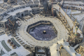 Pilgrimage to Mecca, Saudi Arabia, the holiest city for Muslims. Aerial view. - PhotoDune Item for Sale