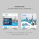 Marketing Social Media Post Template - GraphicRiver Item for Sale