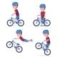 Vector Boy Riding a Bmx Bike - GraphicRiver Item for Sale