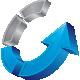 Circle Arrow Up Logo - GraphicRiver Item for Sale