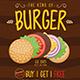 Burger Promo Flyer - GraphicRiver Item for Sale