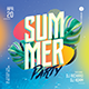 Creative Colorful Summer Party Flyer - GraphicRiver Item for Sale