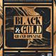 Black and Gold Flyer Template V24 - GraphicRiver Item for Sale