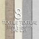 8 Textile Texture Background - GraphicRiver Item for Sale