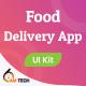 Food Delivery App Flutter UI Kit - User & Delivery Man App - CodeCanyon Item for Sale
