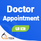 Doctor Appointment Booking App Flutter UI Kit - CodeCanyon Item for Sale
